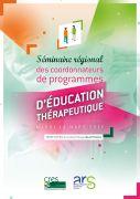 Séminaire des coordonnateurs de programmes d'éducation thérapeutique