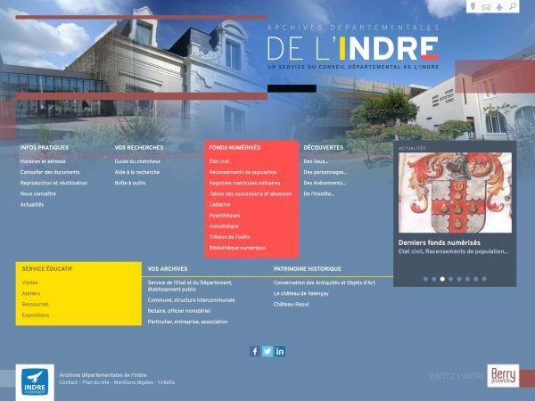 Archives départementales de l'Indre