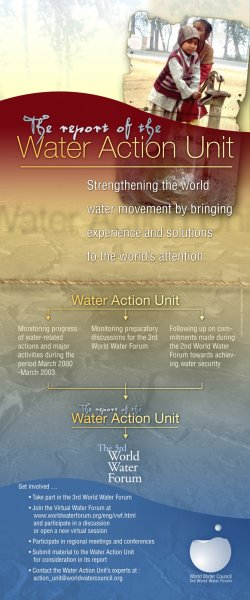 "Poster ""Water Action Unit"""