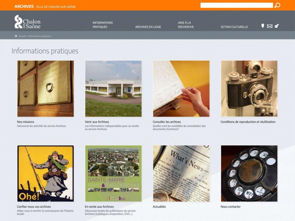 archives de la ville de chalon sur sa ne 1 gal 2 agence de cr ation de sites internet. Black Bedroom Furniture Sets. Home Design Ideas